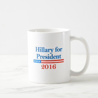 Hillary for President 2016 Coffee Mugs