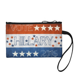 Hillary for President 2016 Coin Purse