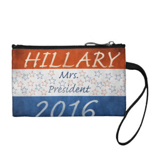 Hillary for President 2016 Coin Purses
