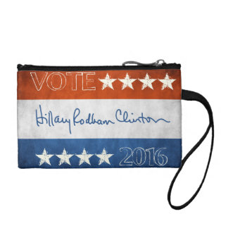 Hillary for President 2016 Coin Wallet
