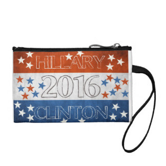 Hillary for President 2016 Coin Wallets