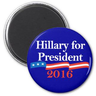 Hillary for President 2016 Fridge Magnet