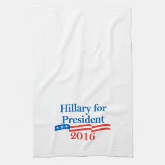 Hillary for President 2016 Hand Towels