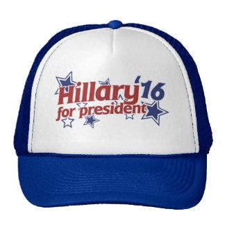 Hillary for president 2016 trucker hat