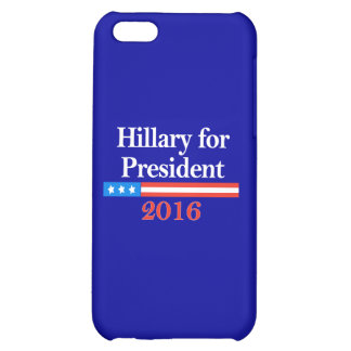 Hillary for President 2016 iPhone 5C Cases
