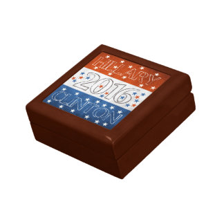 Hillary for President 2016 Jewelry Box