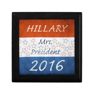 Hillary for President 2016 Keepsake Boxes