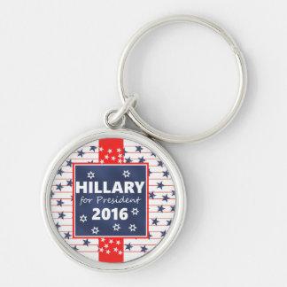 Hillary for President 2016 Keychain