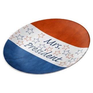 Hillary for President 2016 Porcelain Plate