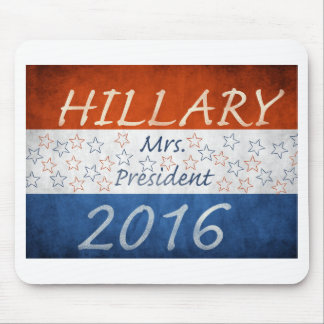 Hillary for President 2016 Mouse Pad