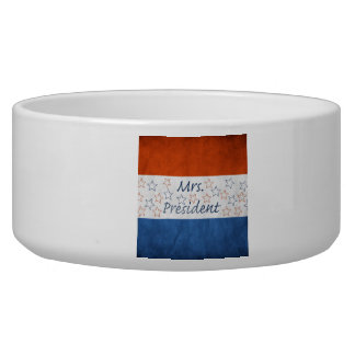 Hillary for President 2016 Pet Food Bowls