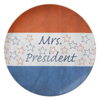 Hillary for President 2016 Dinner Plate
