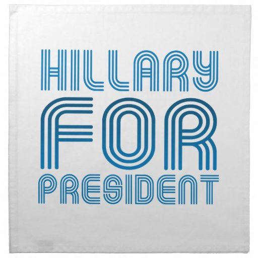 HILLARY FOR PRESIDENT 2016.png Cloth Napkins
