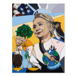 Hillary for president 2016 postcard