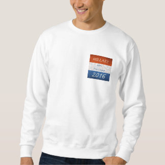 Hillary for President 2016 Pullover Sweatshirt