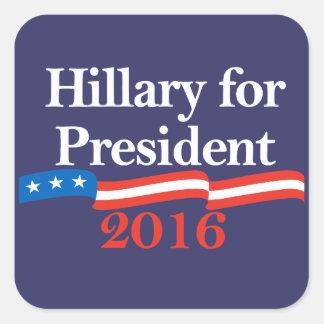Hillary for President 2016 Sticker