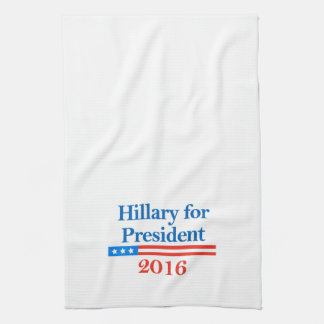Hillary for President 2016 Towel