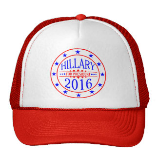 Hillary For President 2016 Trucker Hat design.