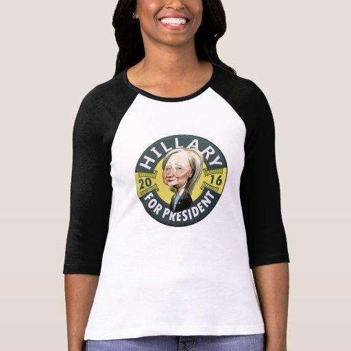 Hillary for President 2016 Tshirts