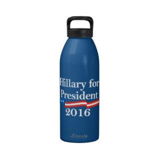 Hillary for President 2016 Water Bottle
