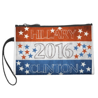 Hillary for President 2016 Wristlet Clutch