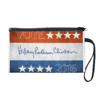 Hillary for President 2016 Wristlet Clutches