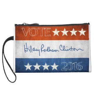 Hillary for President 2016 Wristlet Purse