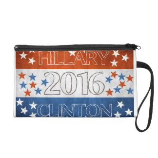 Hillary for President 2016 Wristlet Purses