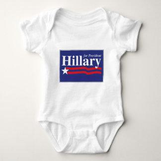 Hillary for President! Baby Bodysuit
