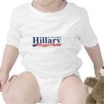 Hillary for President Baby Creeper