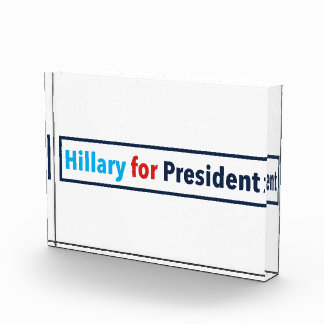 Hillary for President (Choose Your Own Color) Award