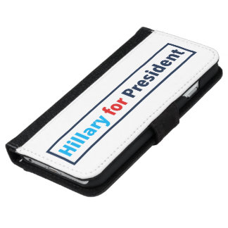 Hillary for President (Choose Your Own Color) iPhone 6 Wallet Case