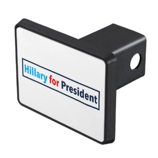 Hillary for President (Choose Your Own Color) Trailer Hitch Cover