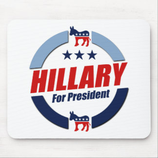 HILLARY FOR PRESIDENT DEMOCRATS 2016 MOUSEPAD
