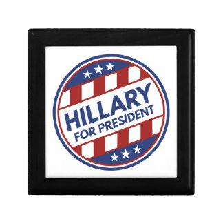 Hillary For President Gift Box