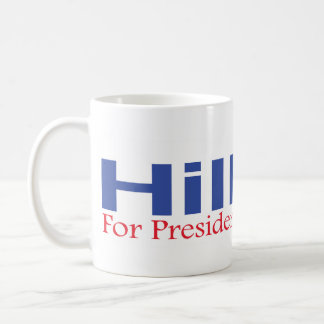 Hillary For President In 2008 Mug