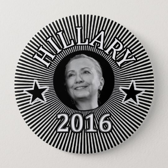 Hillary for President in 2016 Button