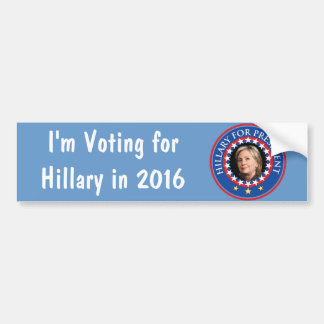 Hillary for President - Seal Bumper Stickers
