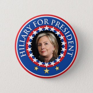 Hillary for President - Seal Pinback Button