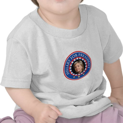 Hillary for President - Seal Tshirts