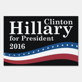 Hillary For President Sign