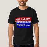 Hillary for Prison 2016 Anti Hillary Tee shirt