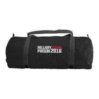 Hillary for prison 2016 gym bag