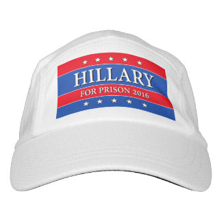 """HILLARY FOR PRISON 2016"" HEADSWEATS HAT"