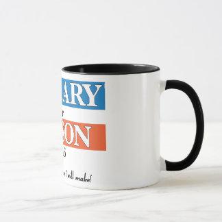 """Hillary for Prison 2016"" Multi-racial Coffee Mug"