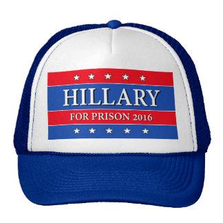 """HILLARY FOR PRISON 2016"" TRUCKER HAT"