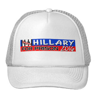 Hillary For Prison 2016! Trucker Hat