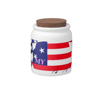 Hillary For USA President We are Stronger Together Candy Dish