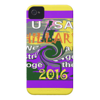 Hillary For USA President We are Stronger Together Case-Mate iPhone 4 Case