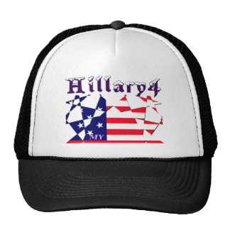 Hillary For USA President We are Stronger Together Trucker Hat